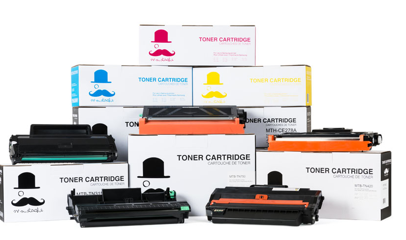 Moustache® Ink & Toner Cartridges