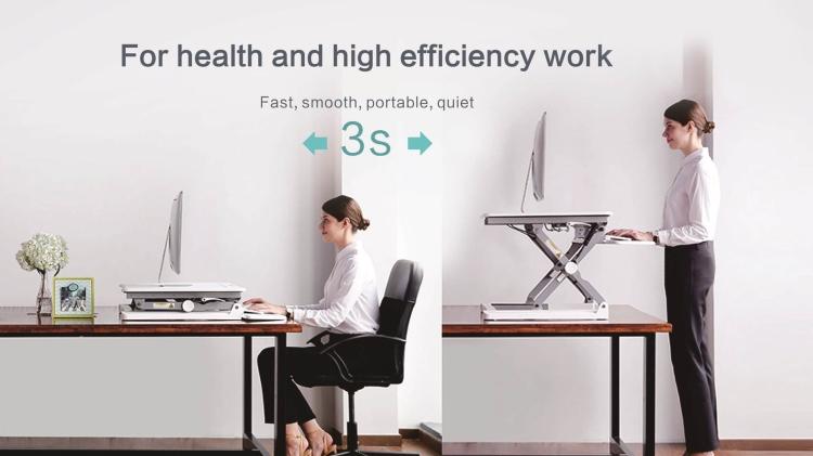 Primecables sit stand desk